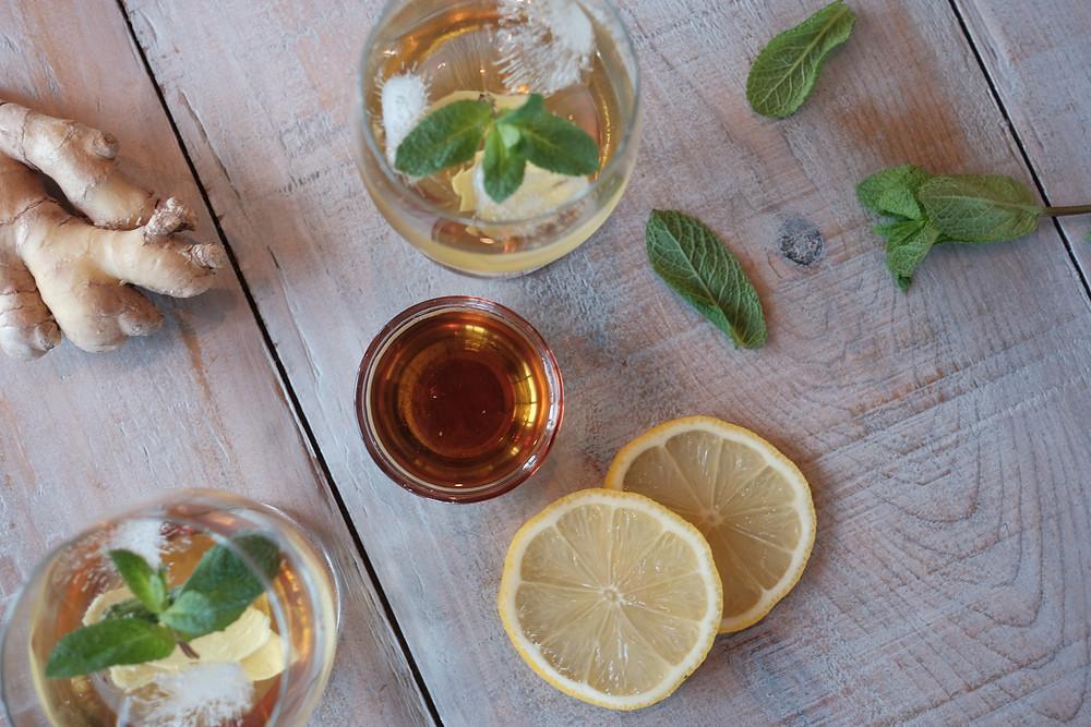 Maple Ginger Tea