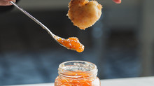 Coconut Shrimp with Stonewall Kitchens Hot Pepper Peach Jam