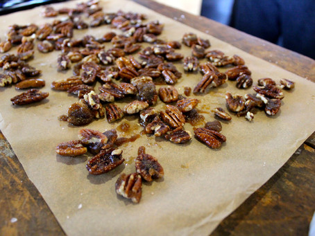 Recipe: Spicy, Candied Pecans