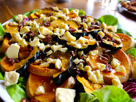 Recipe: Roasted Squash Salad