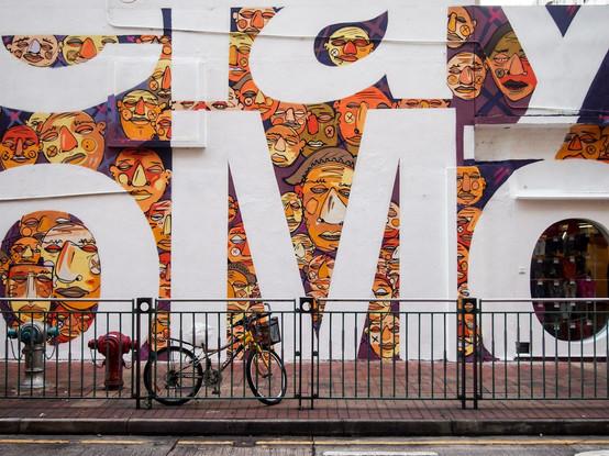 Delay no more mural G.O.D sai kung by Alex Croft