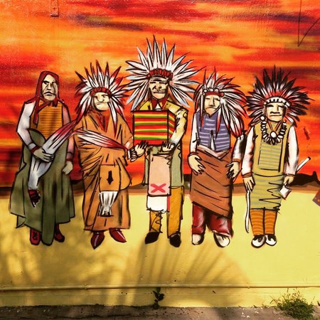 THE RANCH Sai Kung mural by Alex Croft