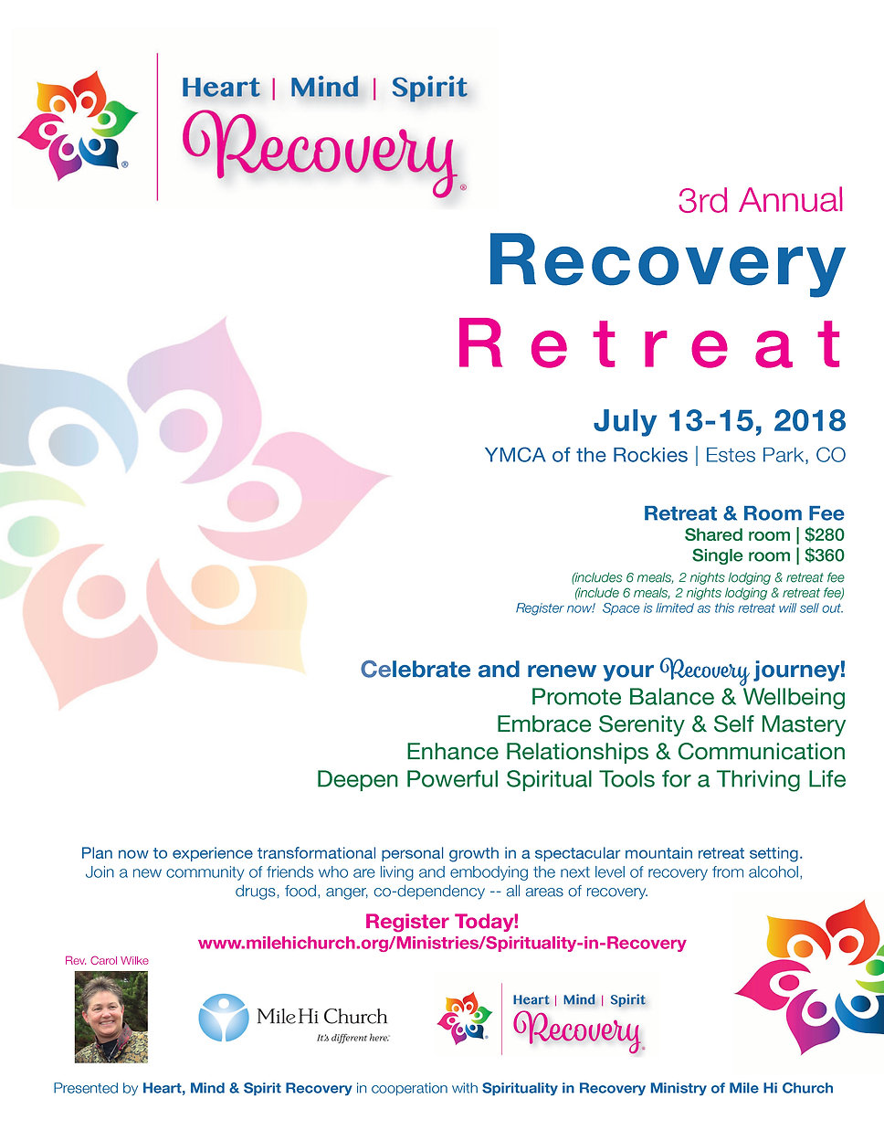 Recovery program with aa recovery spiritual tools conferences retreats for alcoholism, drug addiction and codependency