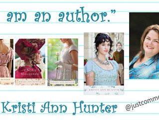 I am an Author (Guest post on Just Commonly)