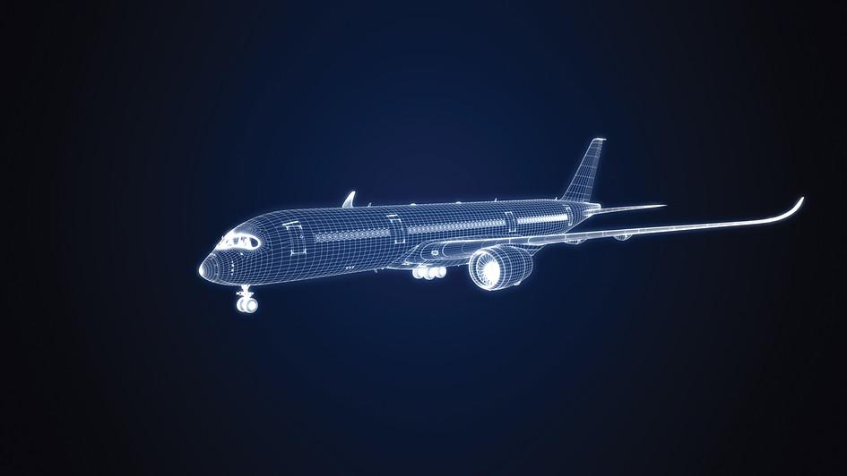 Avion filaire