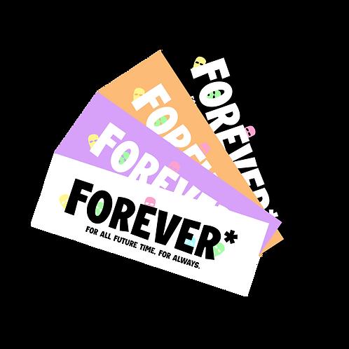 Forever* Box Sticker Pack