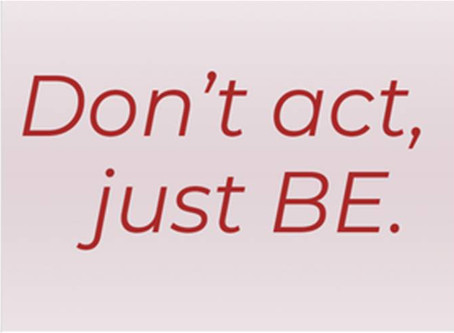 ARE YOU WHERE YOU WANT TO BE IN YOUR ACTING CAREER? ARE YOU USING A LOT OF EXCUSES?