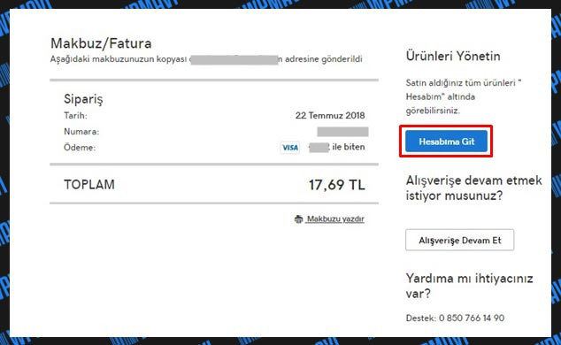 Godaddy SSL Kurulumu - Makbuz Fatura