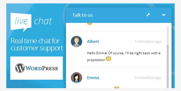 WP Live Chat - ( WordPress Canlı Destek Eklentisi )