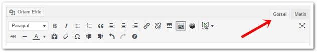 Wordpress Link Ekleme İçin Görsel Editörü