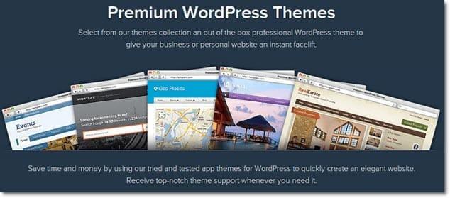 Ücretli WordPress Temaları Satan Siteler - Templatic