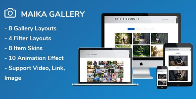 Maika - WordPress Galeri Eklentisi