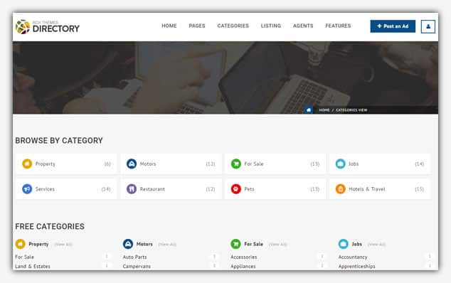 Box Theme/Directory - (WordPress İlan Teması)