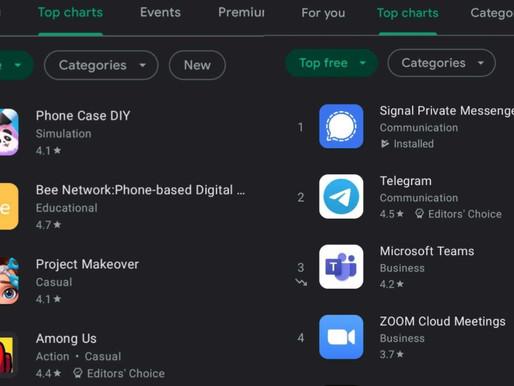 Google Play Store'a Uygulamaların Trend Listesini Gösteren Yeni Bir Özellik Getirildi