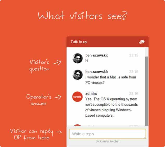 Wordpress mi blogger mı - canlı chat ön yüzü