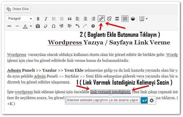 Wordpress Link Verme -1