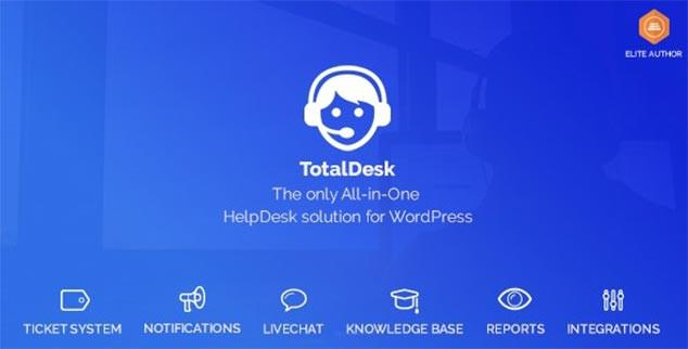 TotalDesk - WordPress Canlı Destek Sistemi