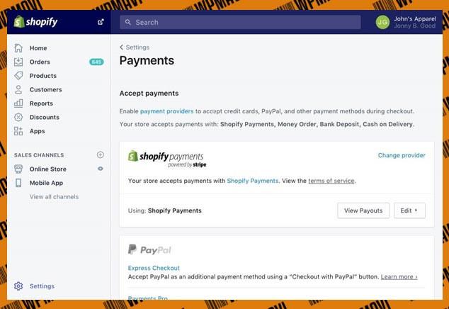 Hazır E-Ticaret Sitesi Shopify Panel