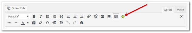 Wordpress Butona Link Verme
