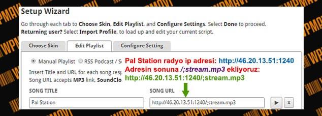 WordPress Radyo Ekleme
