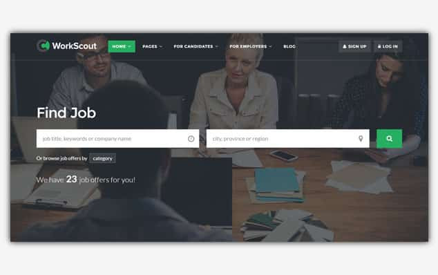 WorkScout - (WordPress İlan Teması)