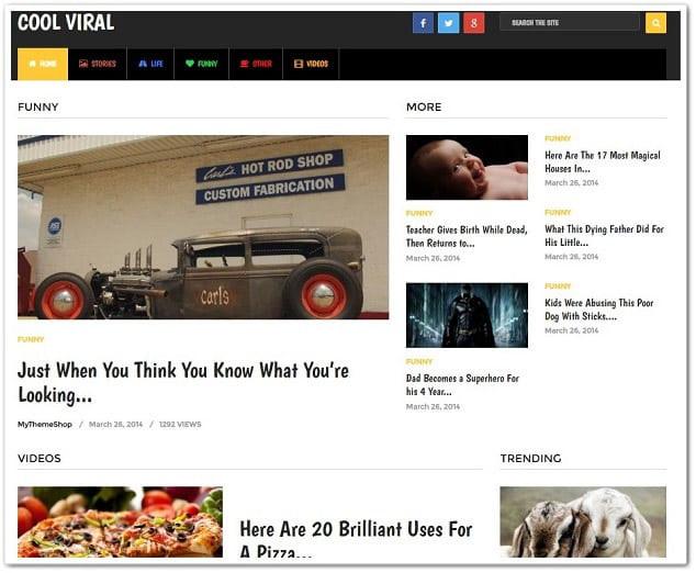 Wordpress paylaşım sitesi teması