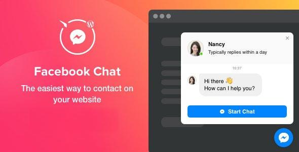 Facebook Chat - WordPress Facebook Chat Eklentisi