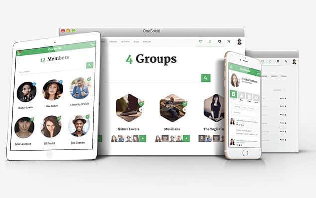 OneSocial - (WordPress Forum Teması)