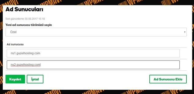 Ad Sunucuları Değiştirme - En Ucuz Domain