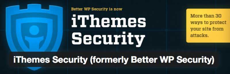 wordpress ithemes security eklentisi