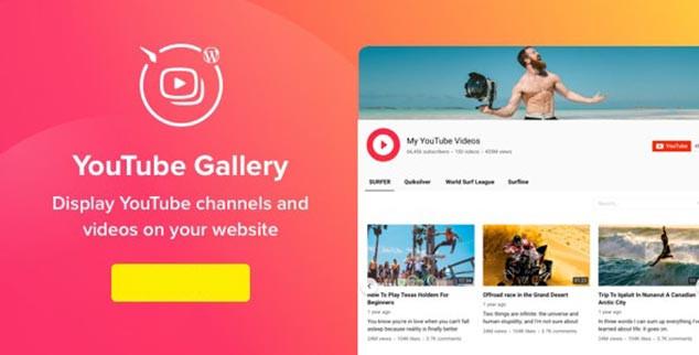 Youtube Gallery - WordPress Youtube Paylaşım Eklentisi