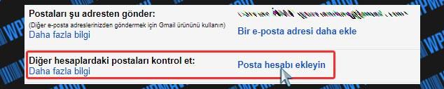 Şirket Mailini Gmailde Açma - Posta Hesabı Ekleyin