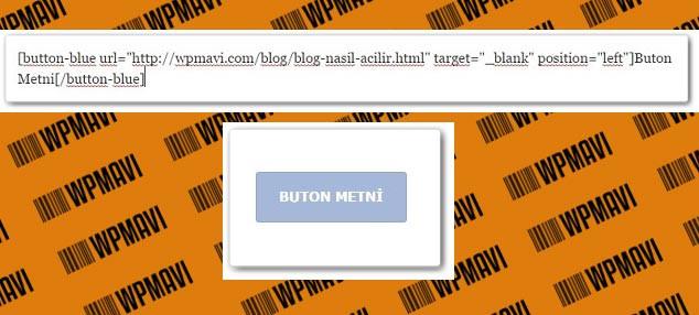 Wordpress Butona Link Ekleme - Insert