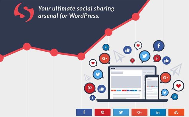 Social Warfare WordPress Sosyal Paylaşım Eklentisi
