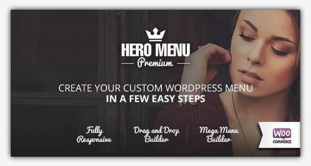Hero Menu - WordPress Menü Eklentisi