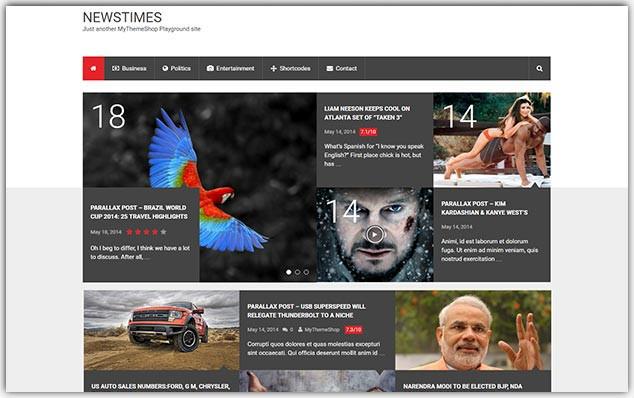NewsTimes - Seo Uyumlu Haber Teması