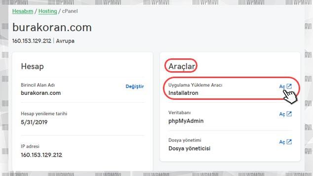 Kişisel Web Sitesi Açmak - Uygulama Yükleme Araçları