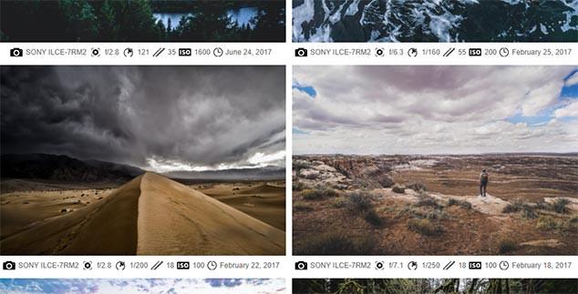 WordPress Galeri Eklentisi Exif Özelliği