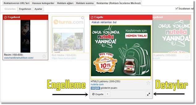 Google Adsense Gelir Yükseltme Reklam İncleme Merkezi