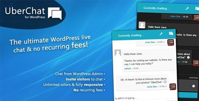 Uber Chat - WordPress Canlı Sohbet Eklentisi