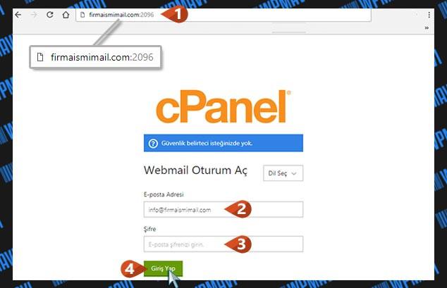 Şirket Maili Açma - Mail Giriş Sayfası