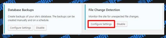 iThemes Security Ayarları File Change Detection