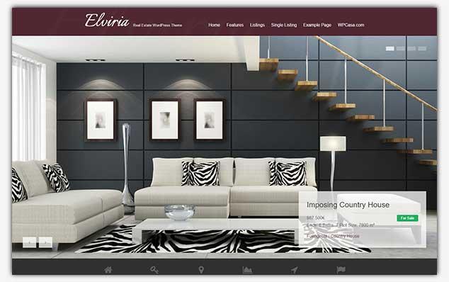 Elviria - WordPress Emlak Teması