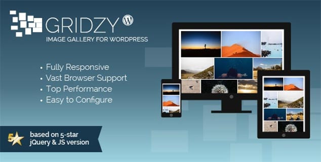Gridzy Image Gallery - WordPress Resim Galerisi Eklentisi