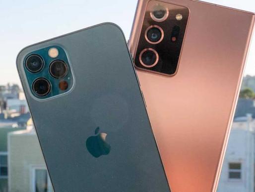 Samsung, 2020'de En Fazla Akıllı Telefon Üreten Şirket Oldu