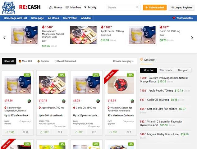 REHub - WordPress E Ticaret Teması