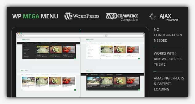 WP Mega Menu - WordPress Menü Eklentisi
