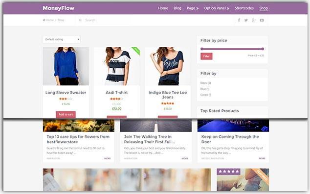 MoneyFlow - Seo Uyumlu E-Ticaret Teması