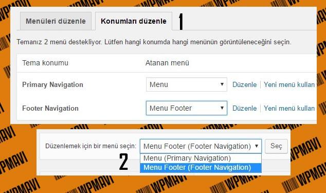Wordpress Footer Link Ekleme