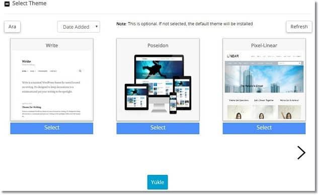 Wordpress Kurma Resimli Anlatım